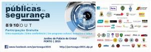 Jornadas Publicas Segurança Porto 2015 poster
